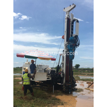 100m Surface crawler track Sonic drilling rig